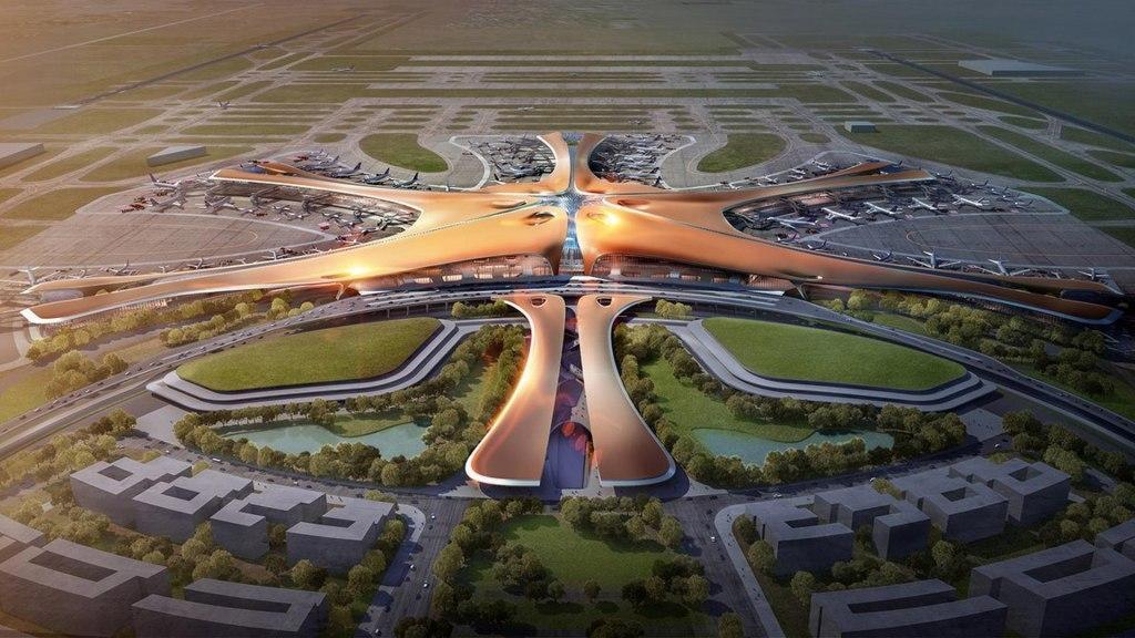 پروژه بزرگترین ترمینال فرودگاه جهان در چین