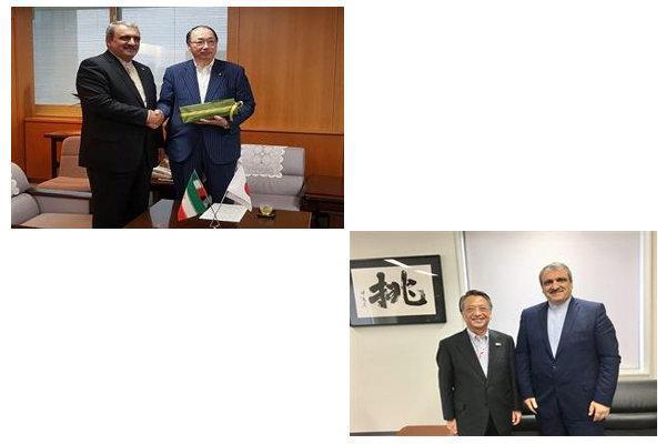 دیدار سفیر ایران با وزیر محیط زیست و رئیس سازمان جهانگردی ژاپن