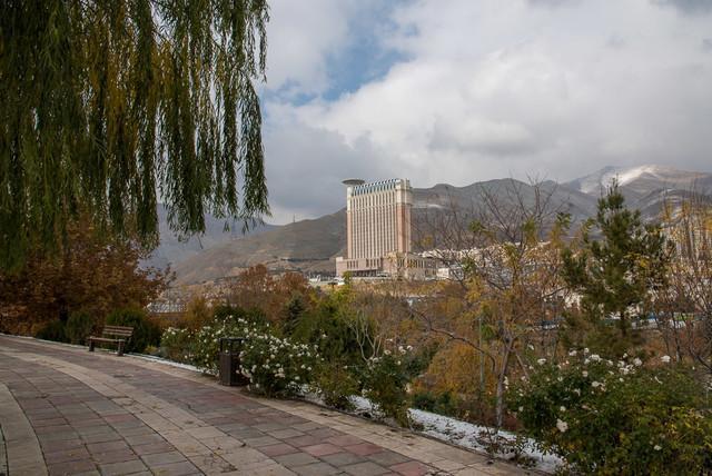 هوای تهران سالم است، احتمال افزایش غلظت ذرات معلق