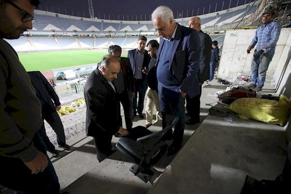 وزیر ورزش: شنبه آینده چهره جدیدی استادیوم آزادی را می بینید