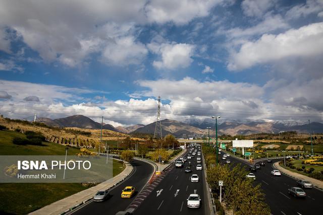 غلظت آلودگی هوای تهران کم می گردد