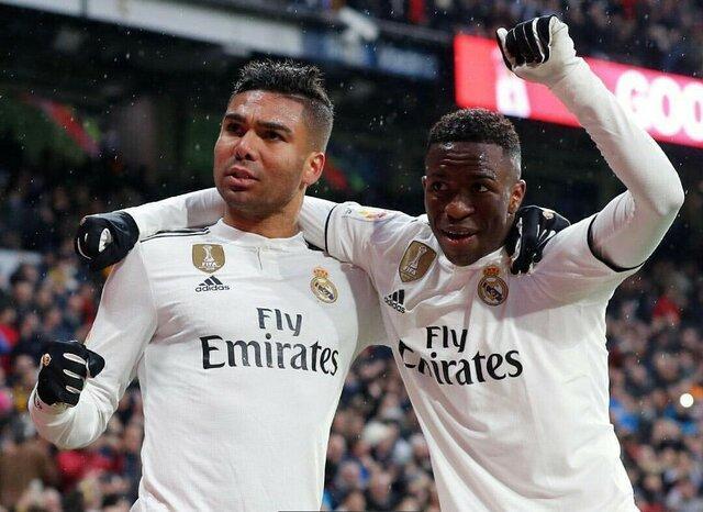 صعود رئال مادرید به رتبه سوم لالیگا