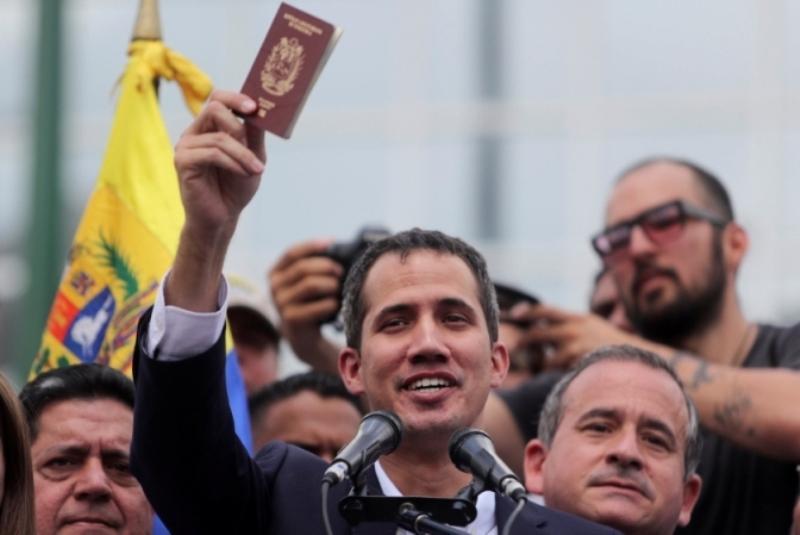بازگشت گوایدو به ونزوئلا باهدف تشدید تنش ها