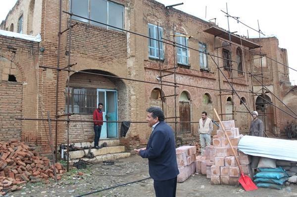 قلعه بدلبوی ارومیه مرمت شد