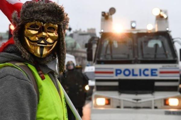 شروع اعتراضات جلیقه زردها در اولین شنبه بعد از انتخابات اروپا