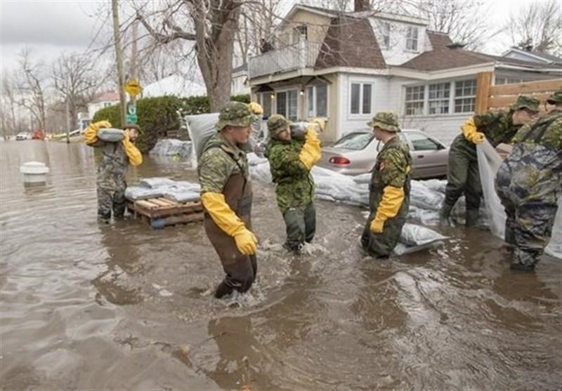 پایتخت کانادا در معرض خطر آسیب های حاصل از وقوع سیلاب