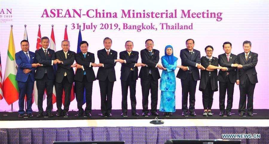 توافق چین و آسه آن برای تقویت روابط