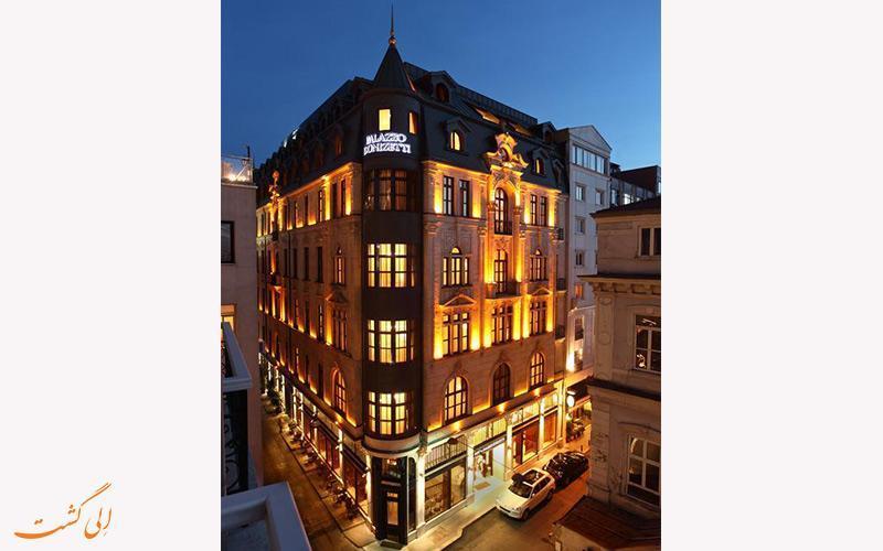 معرفی هتل پالازو دونیزتی استانبول ، 4 ستاره