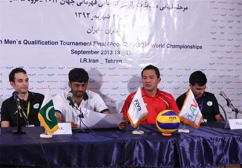 سرمربی پاکستان : تمرکز لازم را برای مسابقات نداشتیم، سرمربی اندونزی: بدون هدف به تهران آمدیم