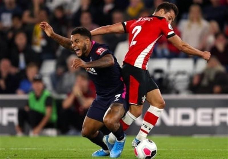 لیگ برتر انگلیس، بورنموث در خانه ساوتهمپتون 3 امتیاز گرفت