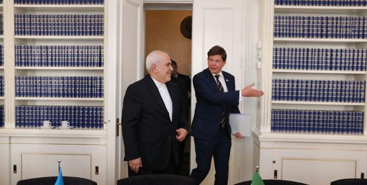 ظریف با رئیس مجلس سوئد دیدار کرد