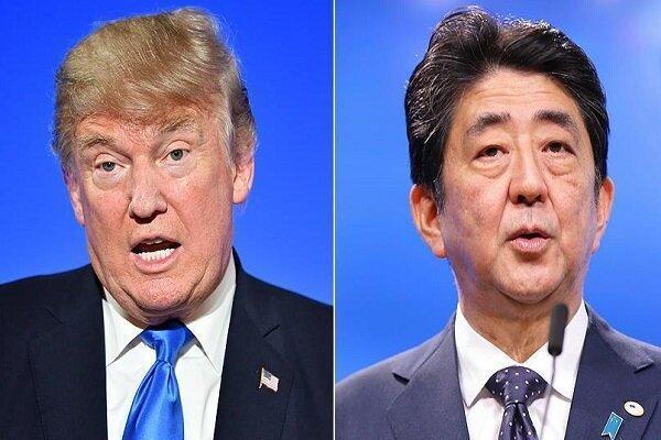 ترامپ از توافق تجاری 7 میلیارد دلاری با ژاپن اطلاع داد