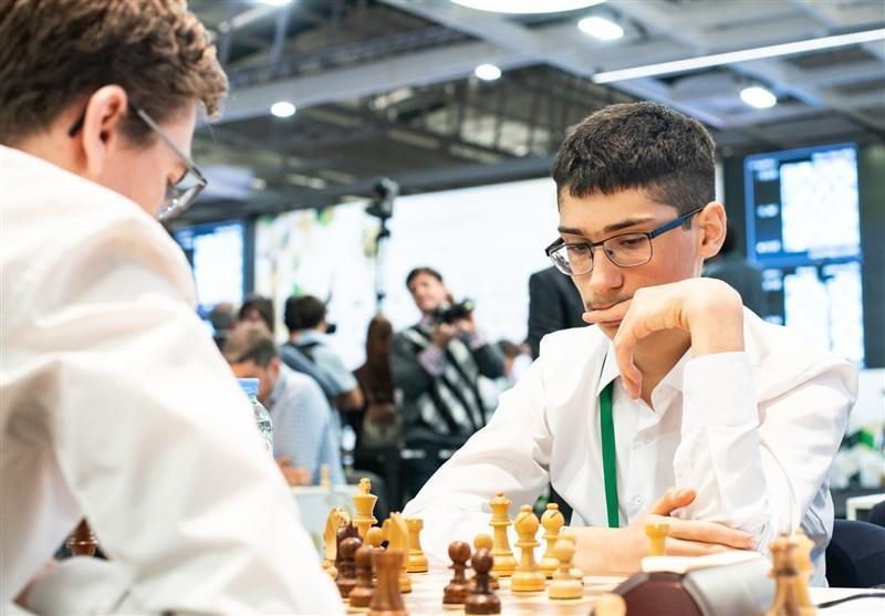 جام جهانی شطرنج، تساوی علیرضا فیروزجا مقابل نفر سوم رنکینگ جهانی
