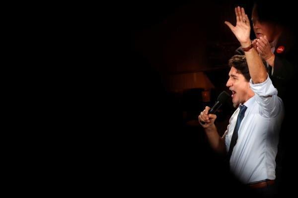 حزب لیبرال کانادا به رهبری ترودو مأمور تشکیل دولت جدید می گردد