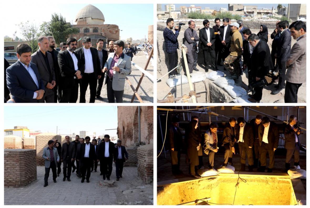 کاوش جمعه مسجد بخش مهمی از هویت تاریخی اردبیل را احیا کرد