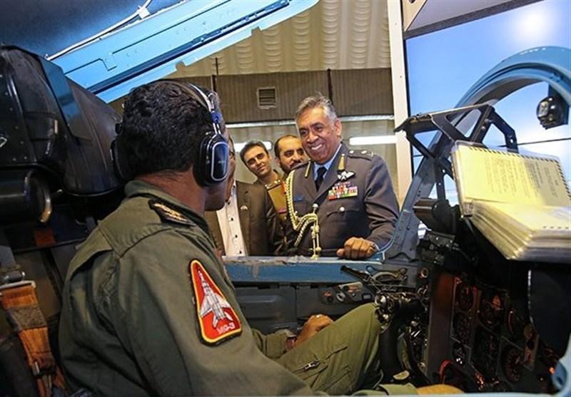 بازدید فرمانده نیروی هوایی عمان از پایگاه هوایی شهید لشکری