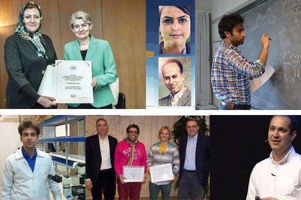 درخشش ستارگان ایرانی در آسمان علم جهان