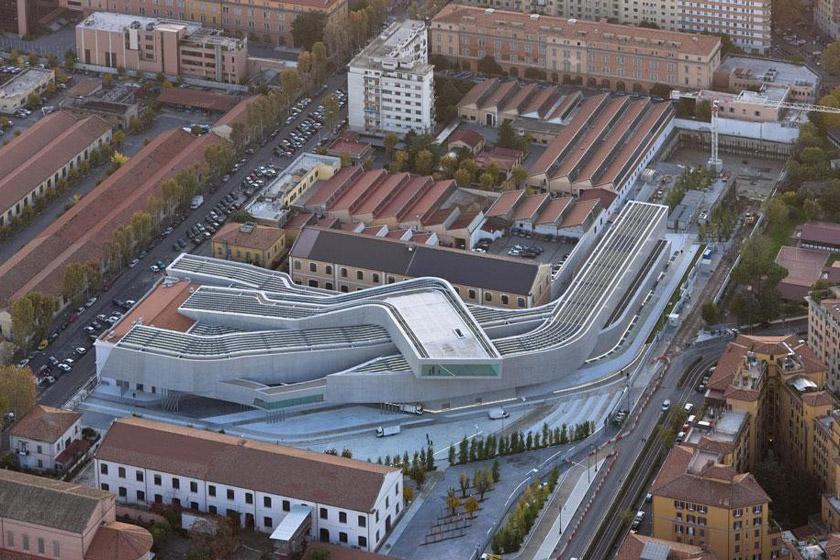 معماری موزه ملی هنر قرن بیست و یکم در ایتالیا، نمادی از زندگی امروز