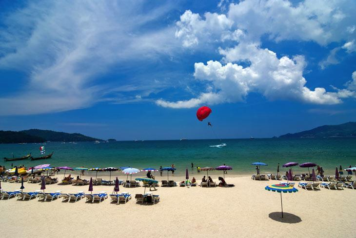 سواحل پاتونگ جزیره پوکت تایلند