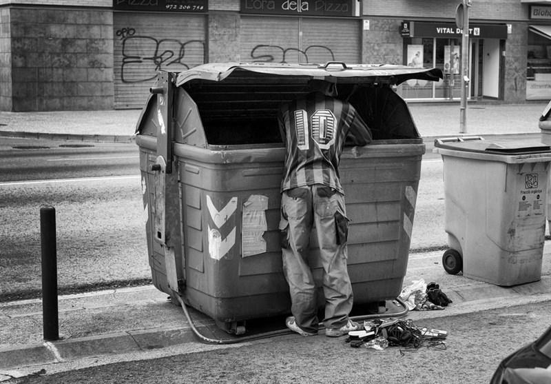 خطر بالای فقر در آلمان با وجود بهبود شرایط مالی