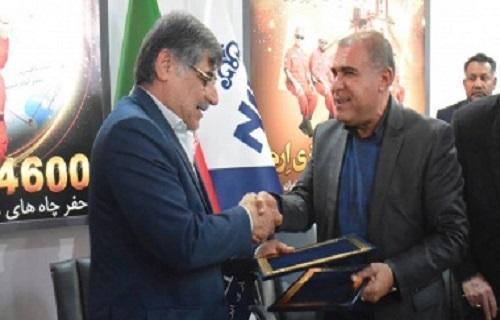تفاهم نامه همکاری بین دانشگاه شهید چمران و شرکت ملی حفاری ایران منعقد شد