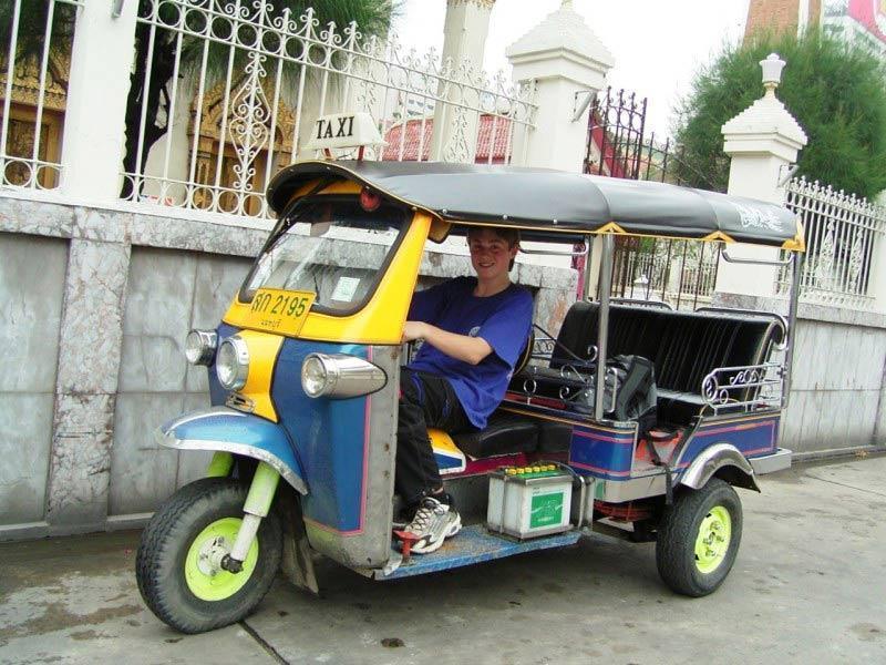 سفری خانوادگی در بانکوک