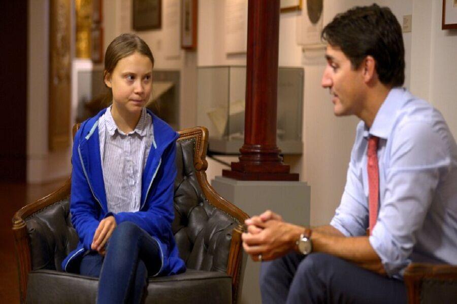 خبرنگاران تونبرگ وعده انتخاباتی نخست وزیر کانادا را ناکافی دانست