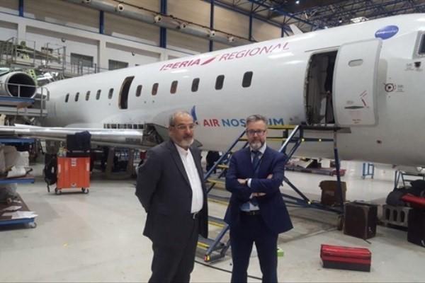 مذاکره با مدیران شرکت هواپیمایی ایر نوستروم اسپانیا