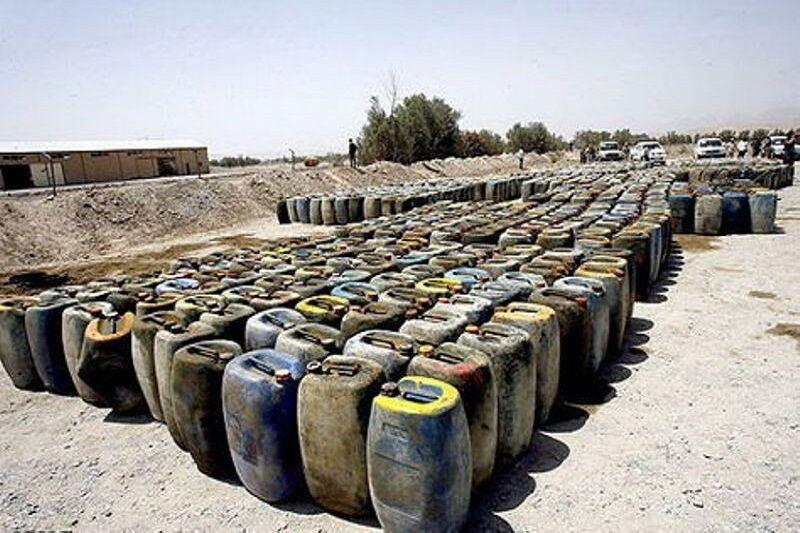 خبرنگاران 29 هزار لیتر بنزین قاچاق در روانسر کشف شد