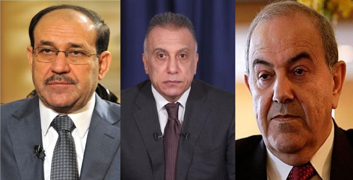 خبرنگاران علاوی و المالکی به کابینه الکاظمی رای اعتماد نمی دهند