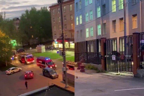 آتش سوزی در یک بیمارستان در پایتخت روسیه، یک بیمار جان باخت