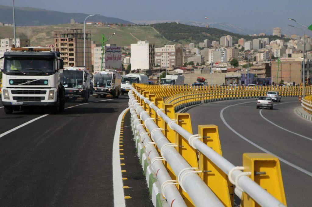 خبرنگاران تقاطع غیر همسطح ارغوان شهر ایلام امسال تکمیل می شود