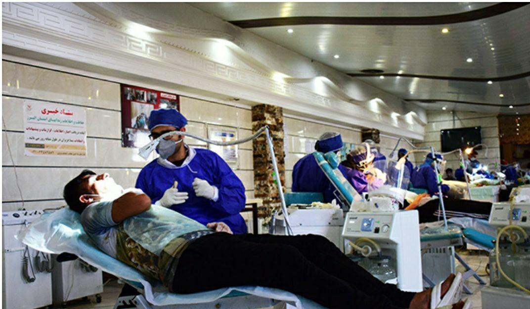 گروه جهادی منتظران ظهور خدمات مداوم دندانپزشکی به زندان های البرز ارائه می دهد