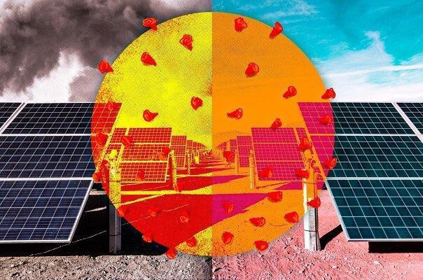 کرونا کارآیی صفحات خورشیدی را افزایش داد