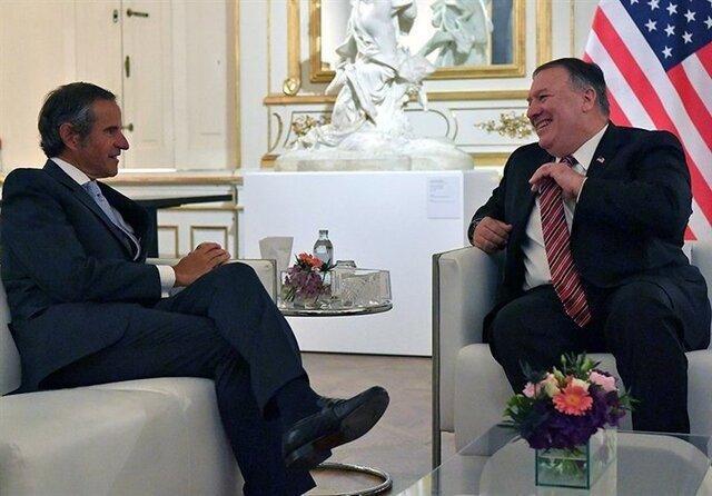 گفت وگوی دبیرکل آژانس انرژی اتمی با پمپئو درباره ایران