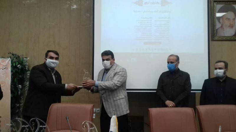خبرنگاران برترین های جشنواره ترنج در البرز معرفی شدند