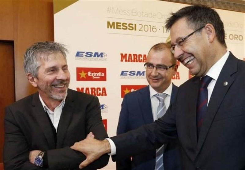 اولین مذاکره پدر مسی و رئیس باشگاه بارسلونا بی نتیجه بود