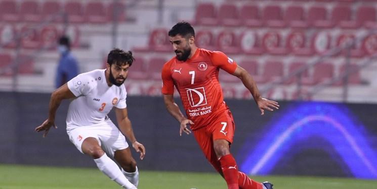 بازیکن ایرانی تیتر یک رسانه های قطری شد