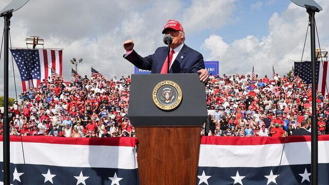 کمپین های انتخاباتی ترامپ احتمالا تا بعد از روز انتخابات ادامه داشته باشد