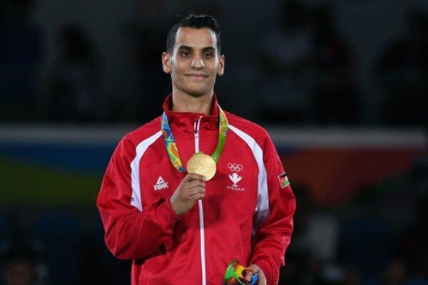 حکم زندان قهرمان اردنی المپیک تعلیق شد