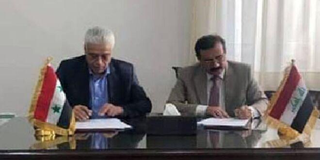 خبرنگاران توافق سوریه و عراق برای گسترش همکاری های حمل و نقل ریلی