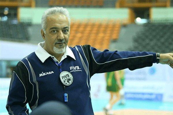 برای معرفی توان واقعی داوران والیبال ایران کوشش خواهم کرد