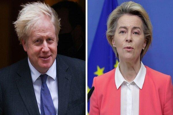 فون در لاین: از این به بعد، لندن برای بروکسل کشور ثالث است
