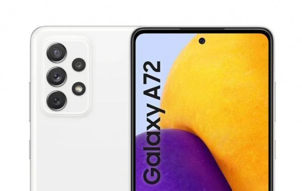 گلکسی A72 4G احتمالا با باتری 5000 میلی آمپر ساعتی و دوربین تله فوتو عرضه می شود