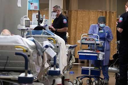 1600 آمریکایی در 24 ساعت گذشته قربانی کرونا شدند
