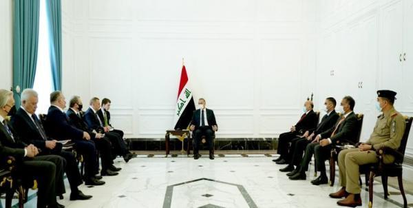 دیدار الکاظمی و معاون نخست وزیر روسیه و تاکید بر تقویت همکاری های فیمابین