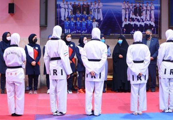 بازدید فرهادی زاد از اردوی تیم های ملی تکواندو و پاراتکواندو بانوان