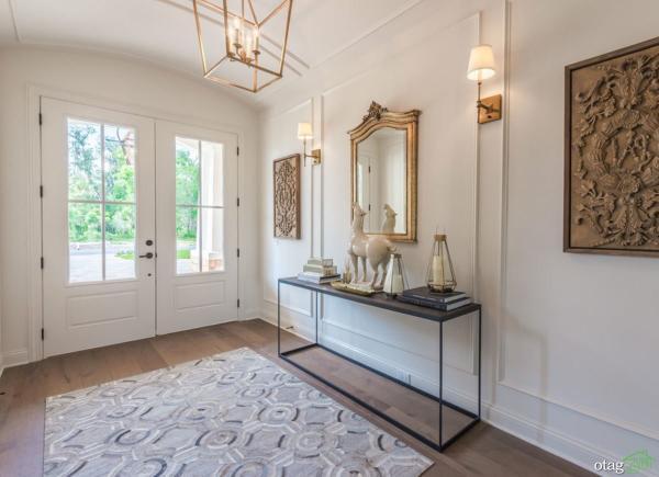 تزیین دکوراسیون ورودی منزل به شیوه های مدرن و شیک همراه با تصویر