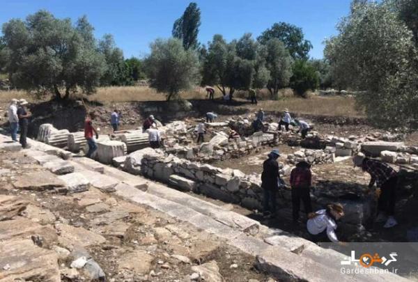کشف جاده مقدس یونان باستان در ترکیه