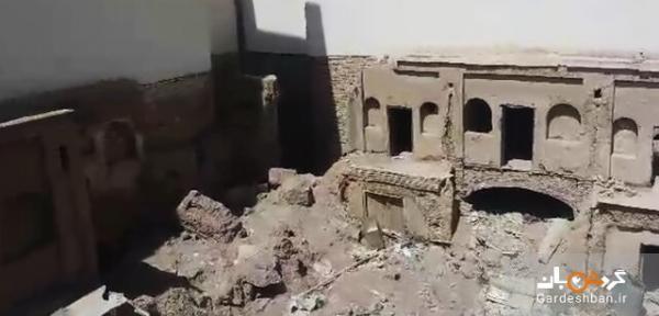 سایه تخریب روی سر تنها کاروانسرا شهری نجف آباد